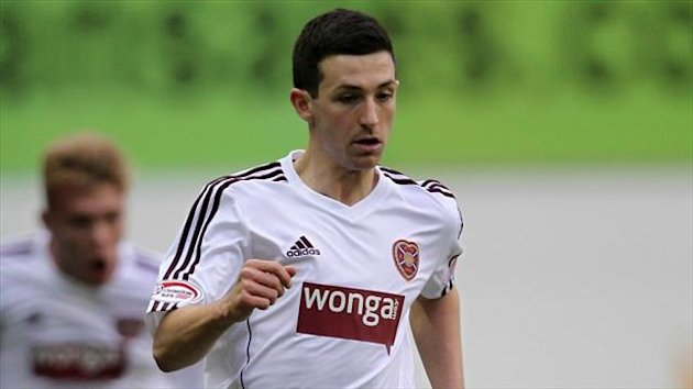 Nottingham Forest are reported to be in for Hearts striker Jason Holt