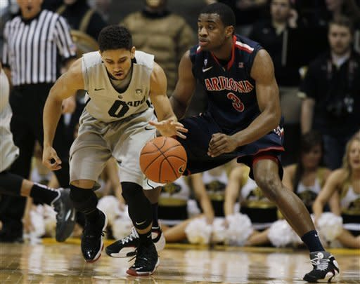 Colorado beats No. 9 Arizona 71-58