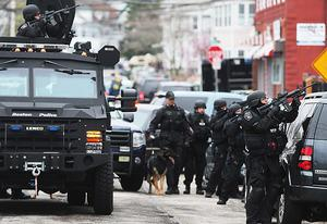 SWAT team members in Watertown | Photo Credits: Mario Tama/Getty Images News