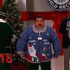 Ugly Christmas Sweater Record Set on 'Kimmel'