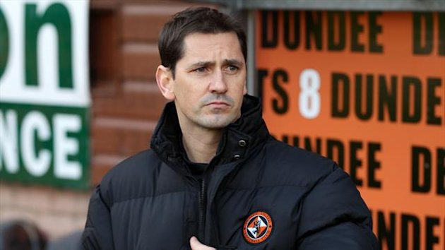 Jackie McNamara, pictured, has been hailed by Stuart Bannigan