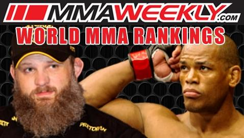 MMA Top 10 Rankings: Roy Nelson and Hector Lombard Blast Back Into the Rankings