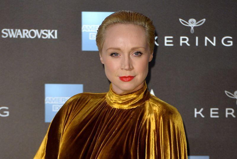 Brienne of Tarth plays the metal Stormtrooper in Star Wars: The Force Awakens