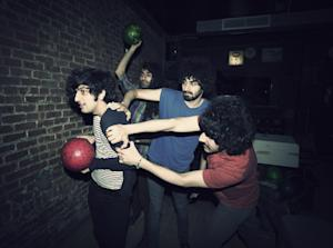 This 2012 photo shows Yellow Dogs band members, from…