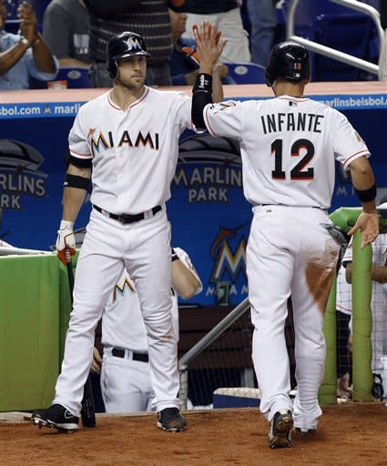 Sanchez pitches Marlins past Nationals 3-1