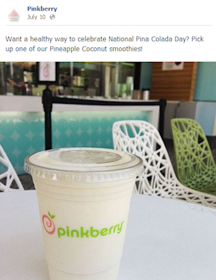 Pinkberry Swirls Social Delight image pinkberry post 2