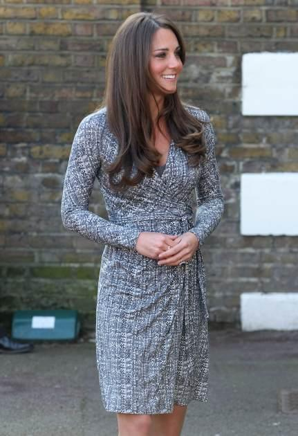 Catherine, Duchess of Cambridge visits Hope House, an Action on Addiction women's treatment centre on February 19, 2013 in London -- Getty Images