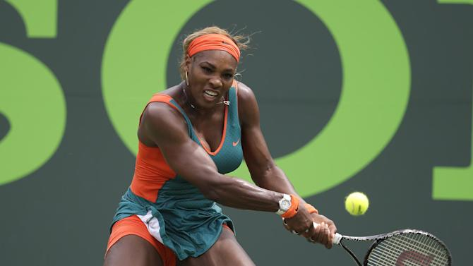 Serena Williams breezes into 3rd round in Madrid