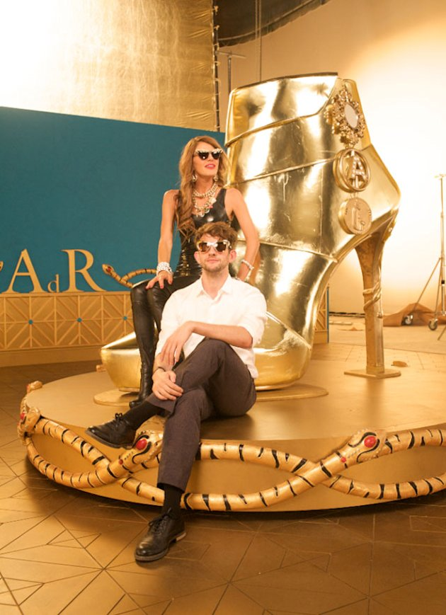 Meet The Man Behind The Anna Dello Russo x H&M Campaign!