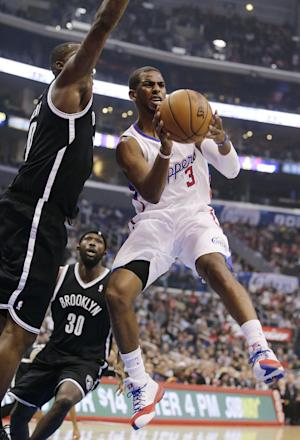 Clippers beat Nets 110-103 to go 5-0 at home