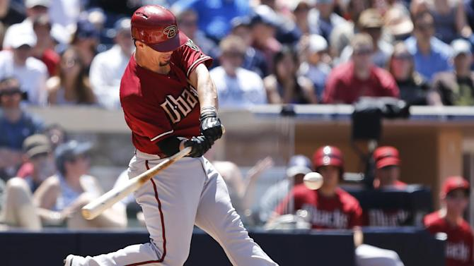 Diamondbacks lose 4-3 to Padres in series finale