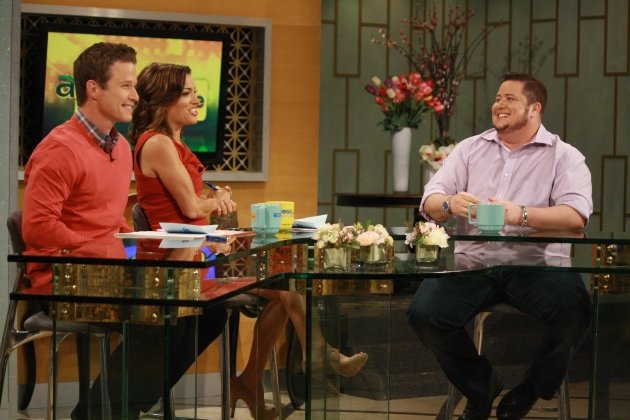 Chaz Bono stops by Access Hollywood Live on April 20, 2012 -- Access Hollywood