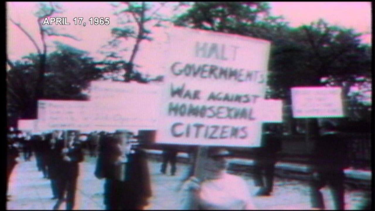 Flashback: What It Was Like At The First Gay Rights Demonstration Outside The White House 50 Years Ago