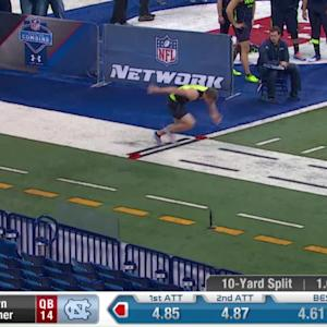 2014 Combine workout: Bryn Renner