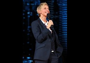 Ellen DeGeneres, TV host, played on her high school tennis team in Atlanta, Texas.