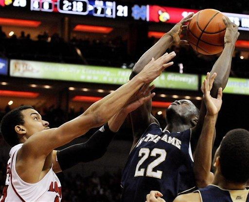 Notre Dame beats No. 11 Louisville in double OT