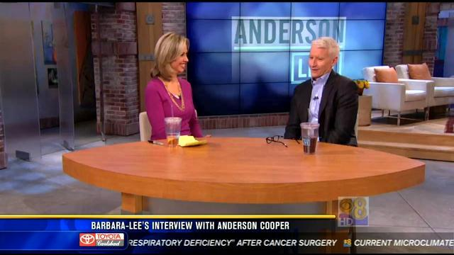 Barbara-Lee Edwards' interview with Anderson Cooper