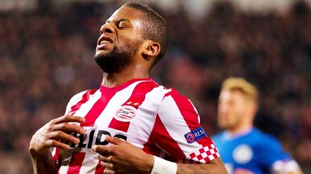 PSV Eindhoven&#39;s Jeremain Lens (Reuters)