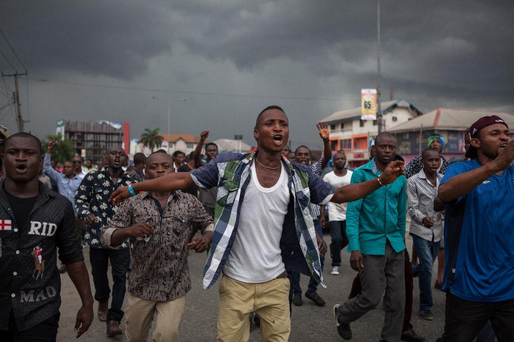Election tensions prompt protests, curfew in Nigeria's Rivers state