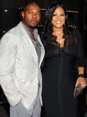 Director Antoine Fuqua and Lela Rochon at the Los Angeles premiere of Paramount Pictures' Shooter