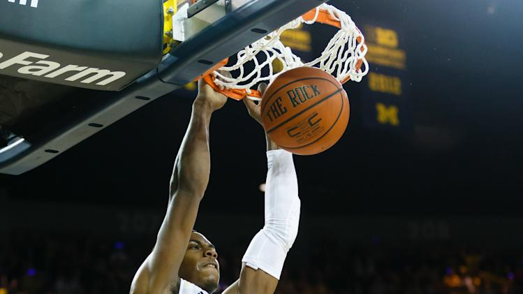 NCAA Basketball: Northwestern at Michigan