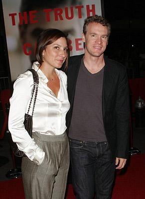Tate Donovan and guest at the New York City premiere of Warner Bros. Pictures' Michael Clayton