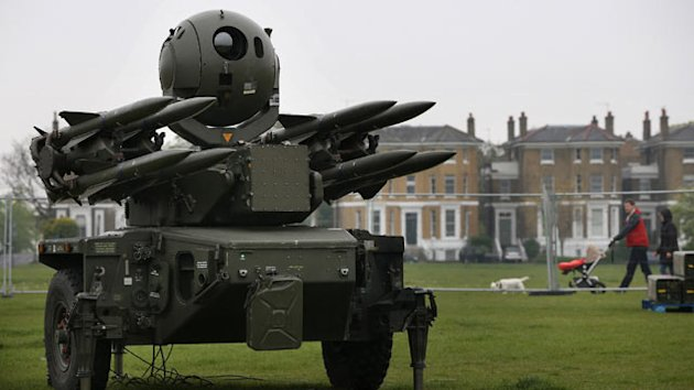 UK Places Anti-Aircraft Missiles Atop Homes As Summer Olympics Near (ABC News)