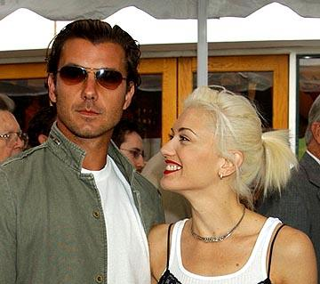 Gavin Rossdale and Gwen Stefani at the LA premiere of Universal's Dr. Seuss' The Cat in the Hat