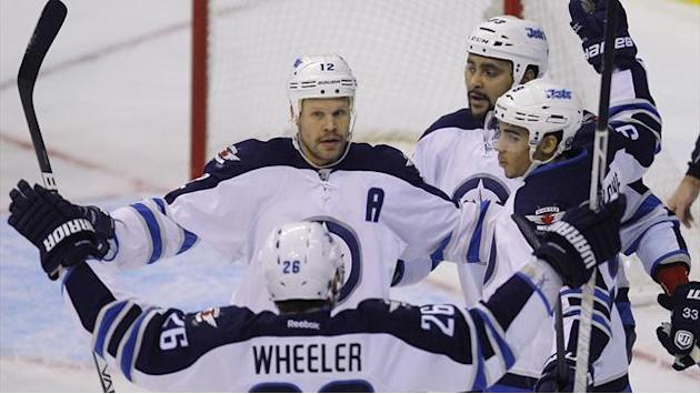 Ice Hockey - Jets win 4-2 to keep Capitals winless