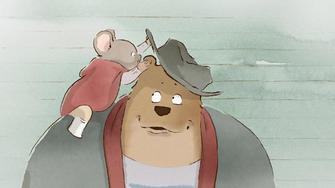 """This image released by Studiocanal shows a scene from the film, """"Ernest and Celestine."""" (AP Photo/Les Armateurs-Studiocanal)"""