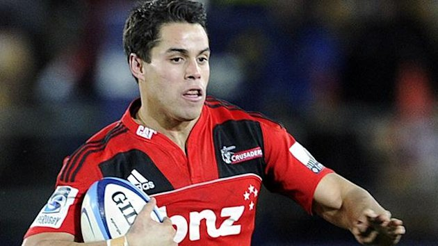 Scotland's Sean Maitland in action for the Crusaders