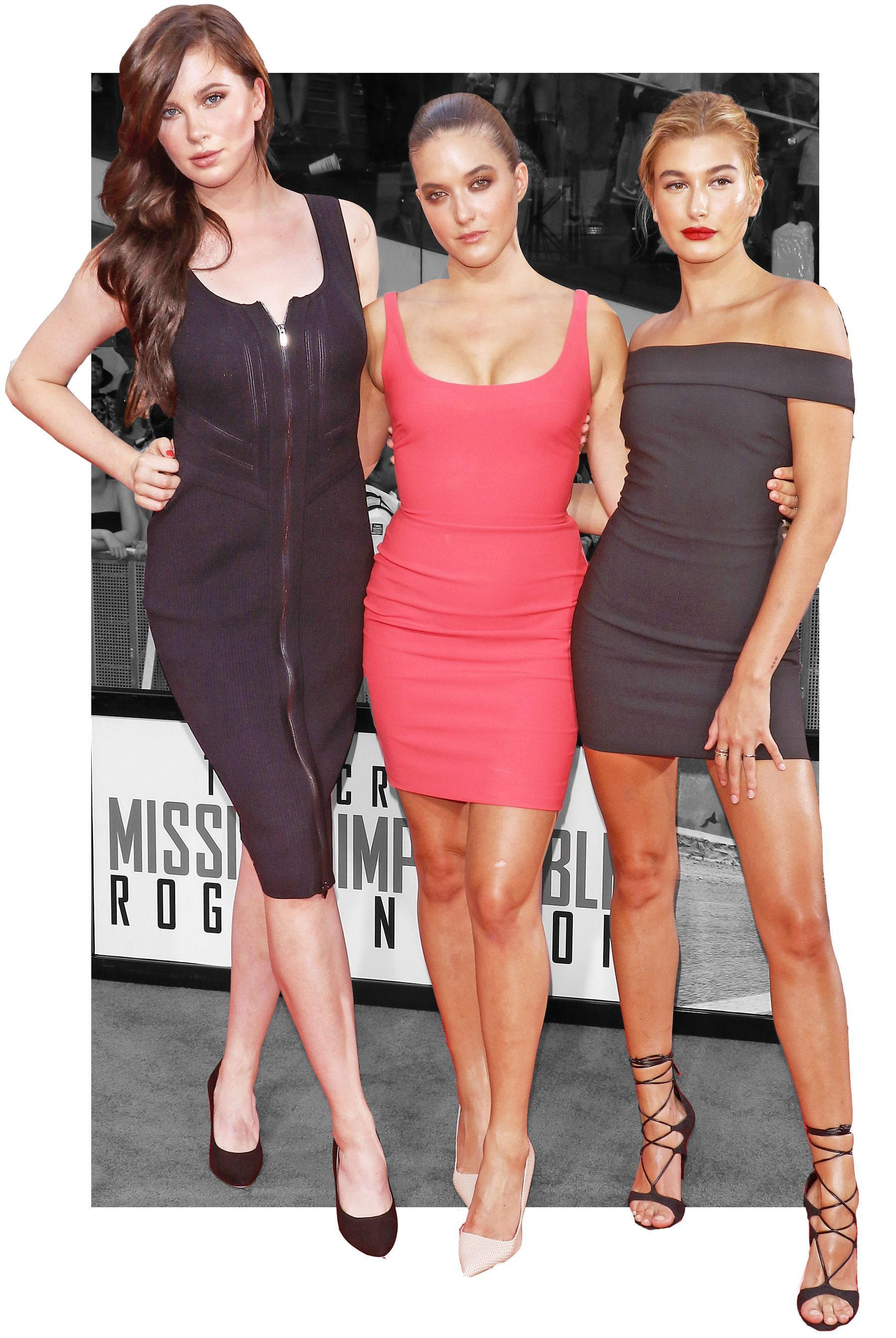 """A Trio of Sexy Baldwins Support Alec Baldwin at the""""Mission Impossible"""" Premiere"""