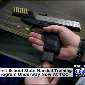 Texas School Marshal Training Begins
