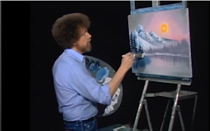 Bob Ross Remixed and Some Music That We Used to Love