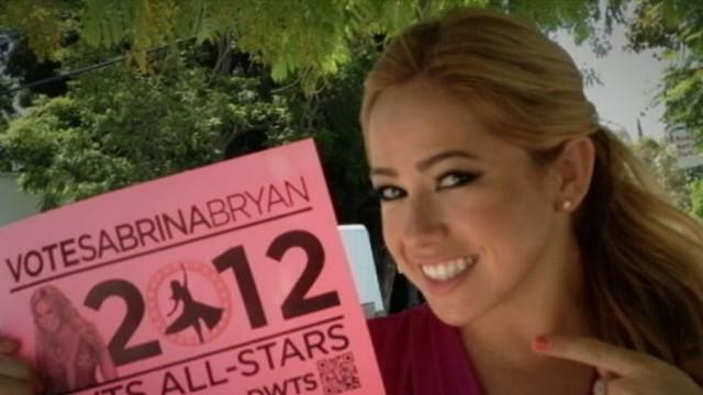 Sabrina Bryan Fights for the Viewer's Choice Spot on 'DWTS'