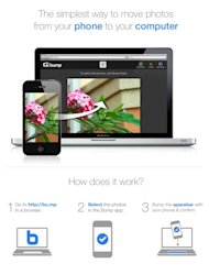 Bump launches tap-to-share mobile to PC photo sharing