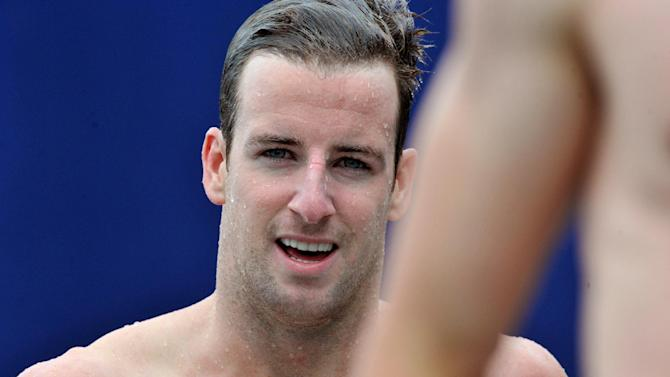 Austalian swimmer James Magnussen pictured after competing in the men's 50m freestyle during the Open de France in Bellerive-sur-Allier on July 5, 2014