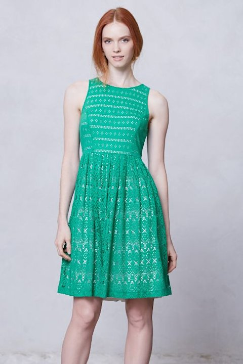Eyelet Dress