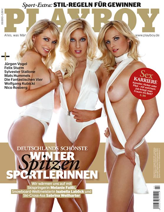 "Winterstars im ""Playboy"""