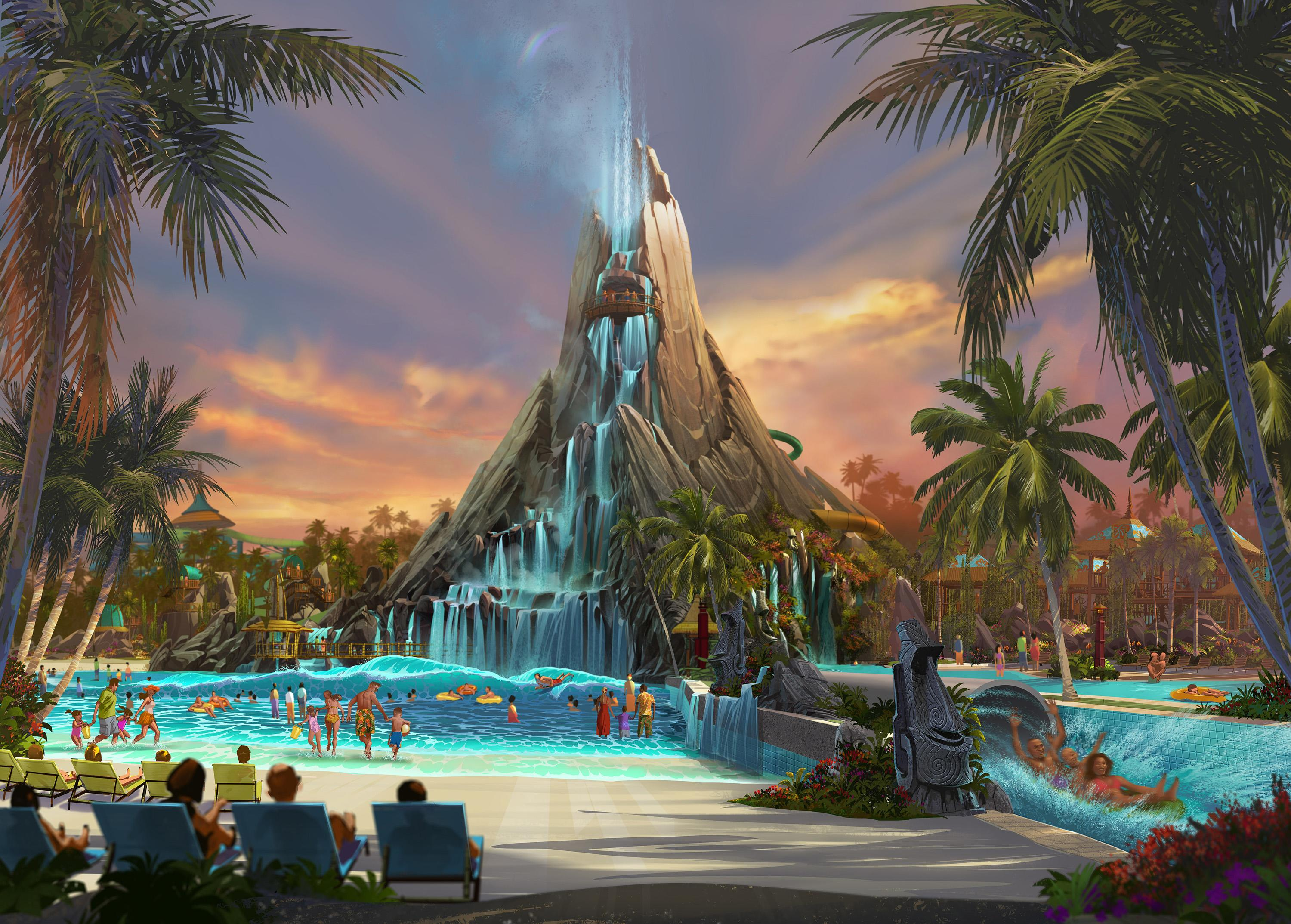 Universal Orlando to build a water park opening in 2017