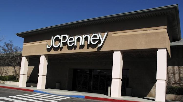 A JC Penny department store is shown in California