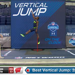 2014 Combine workout: James White