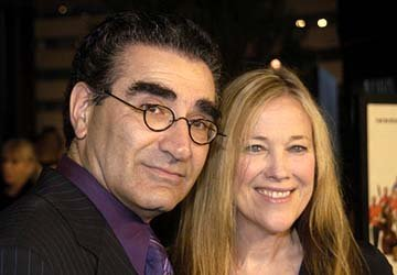 Eugene Levy and Catherine O'Hara at the Hollywood premiere of Warner Bros. A Mighty Wind