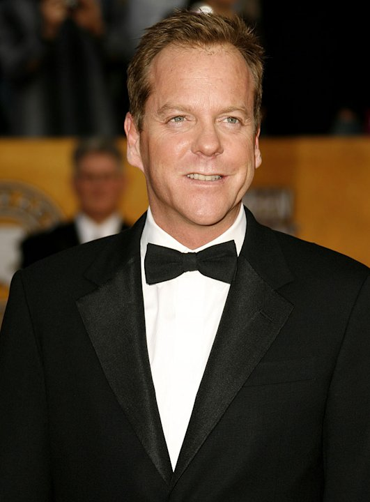 Kiefer Sutherlandat the 13th Annual Screen Actors Guild Awards.