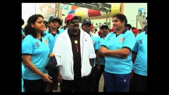 Chennai unites to aware about Olympics
