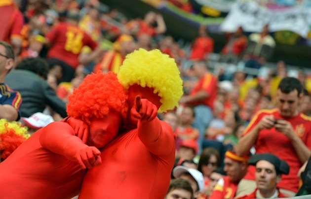 Spanish Fans AFP/Getty Images