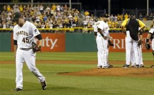 Gerrit Cole has impressive debut for Pirates