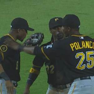 Pirates clinch with double play