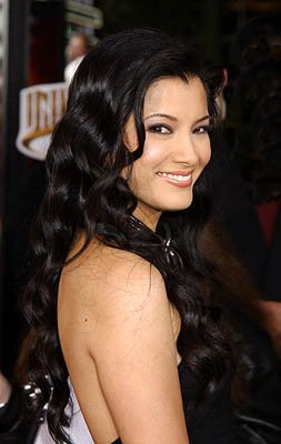Kelly Hu at the LA premiere of Universal's The Scorpion King