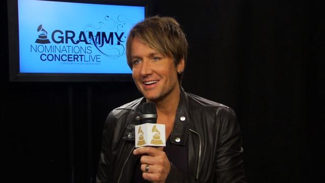 GRAMMY Awards Nomination Show Interview - Keith Urban
